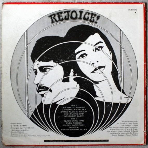 Rejoice LP 1968 004